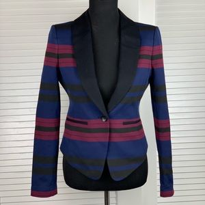 BCBGMaxAzria striped women's blazer size small